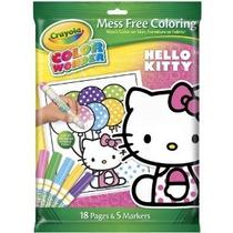 Crayola Color Wonder Hello Kitty 18 Página Para Colorear Pad