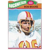1977 Topps Mexican Bob Moore Bucaneros De Tampa Bay