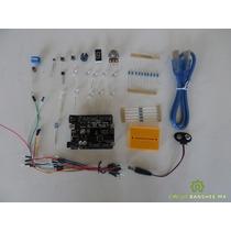 Kit Arduino Uno R3 60 Electrónicos Y Sensores +10 Proyectos