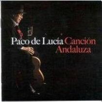 De Lucia Paco Cancion Andaluza Cd Nuevo