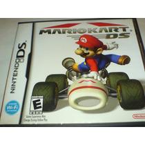 Super Mario Kart Ds Y 3ds Con Caja Original Au1