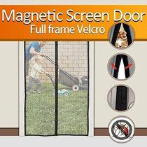 Puerta De Pantalla Magnética Bestope Pesado Full Frame Velcr