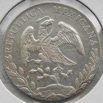 Moneda Mexico 8 Reales Oacaca 1888 Ae Excelente Alta Cond.