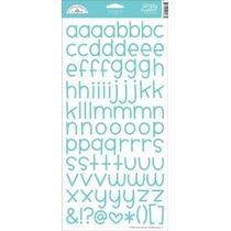 Scrapbook Embellecedores Stickers Alfabeto Baby Boy Bebe