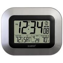 La Crosse Technology Ws-8115u-s Reloj De Pared Digital Con T