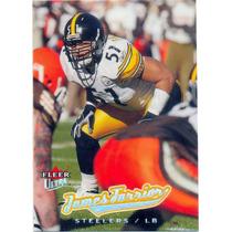 2005 Ultra #125 James Farrior Acereros De Pittsburgh