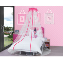 Pabellon Decorativo Princesa Rosa Para Niñas Anti Mosquitos