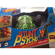 Stunt Psycho Todo Terreno Hot Wheels Nuevo Sellado Rc Verde