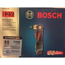 Desarmador Eléctrico Bosch Incluye Cargador Y Dos Baterias