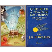Paq. 2 Libros - Beedle El Bardo Y Quidditch - Harry Potter