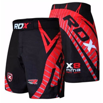Shorts Para Mma Crimson Marca Rdx Distribuidor Oficial