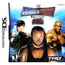 Smackdown Vs Raw 2008; Nintendo Ds