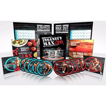 Insanity Max 30 Dvd Workout + Regalos