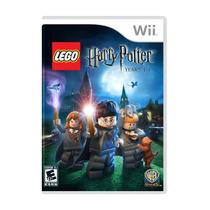 Juego Wii Lego Harry Potter Seminuevo!