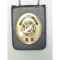 Placa De Proteccion Civil Tipo Policia Federal