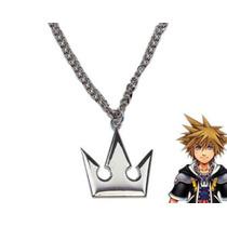 Collar Dije Kingdom Hearts Sora Roxas Videojuego Cosplay