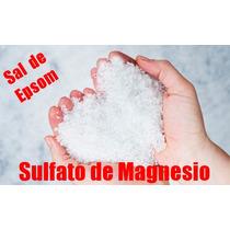 Sal De Epsom (sulfato De Magnesio) - 1 Kilo
