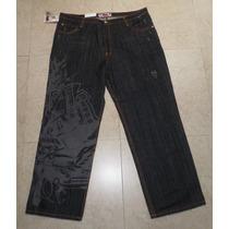 Miskeen Originals Jeans Negro Street Wear Talla 44
