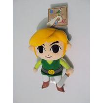 The Legend Of Zelda Phantom Hourglass Peluche De Link Nuevo