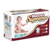 Huggies Supreme Pañales Etapa 4 Niño Paquete De 40 Pañales