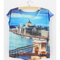 Blusas Budapest Hungria Unitalla Moda Vintage Europea
