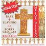 Centro De Mesa Bodas Cruz Oración Padre Nuestro 30cm