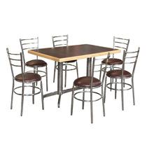 Mesa Y Sillas Bar Antro Restaurante Cafeteria Lounge Ma120ec