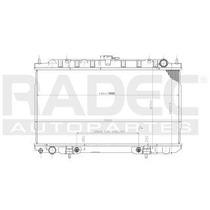 Radiador Nissan Sentra Xe 2000-2001 L4 2.0 Lts Automatico
