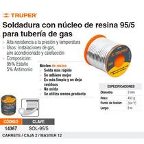 Soldadura Centricore 95/5 Para Tuberias De Gas