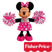 Minnie Porrista Fisher Price Con Pompones.