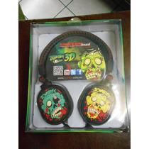 Audifonos Master Sound 3d Retractiles Zombie 3d Sound