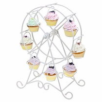 Base Carrusel Rueda De La Fortuna Cupcakes Quequitos