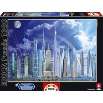 Rompecabezas Educa 1000 Piezas Grandes Edificios 16287 Games