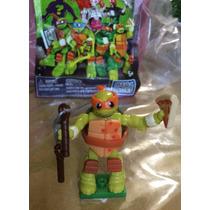 Tortugas Ninja Turtles Tmnt Mega Bloks Leonardo Mike Foot