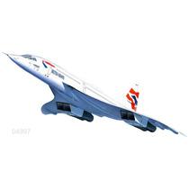 Avion Revell Concorde 1/72 86 Cm Super Detalle Armar/ Testor