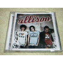 Cd Allison - Allison - Cd Grupo Pop - Rock