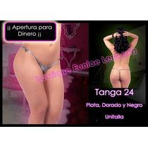 Set De 6 ¡¡¡ Sexy Mini Tanga Con Liguero Integrado Vmj