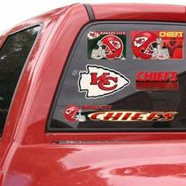Kansas City Chiefs - Calcomanias Ventana Auto