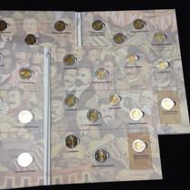 Colección De Monedas Conmemorativas De 5 Pesos Sin Circular