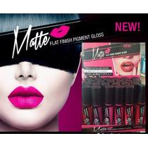 Labial Lip Gloss Indeleble Matte Tipo L.a 24pza Caja