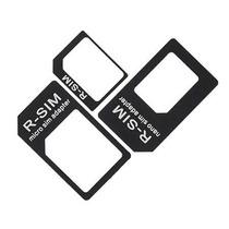 Kit 3 Adaptadores Nano Micro Sim Chip Iphone 5 Ipad Mini