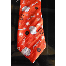 Corbata Oso Polar Coca Cola Mascota Pet Tie Red Christmas