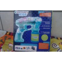 Discovery Kids Pistola De Burbujas Con Luces.