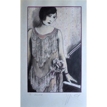 Carla Rippey / La Chinoise / Dibujo Tinta Lápiz Piano