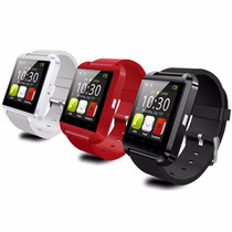 Smart Watch U8 Android Iphone Blue Tooth Manos Libres