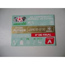 Campeonato Mundial De Futbol Mexico 1986 Boleto