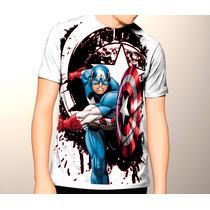 Camiseta,capitan America,civil War, Iron Men,vengadores