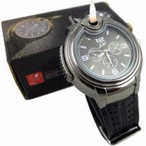 Reloj Con Encendedor Para Hombre En 2 Colores Original Msi