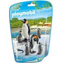 Playmobil 6649 Animales Zoo Pinguinos Con Crias Bebe Safari