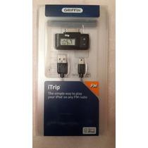 Itrip Griffin Transmisor Fm Cargador Usb A Usb-mini P/ipod